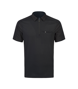 Outdoor Pocket Zip Polo Uomo
